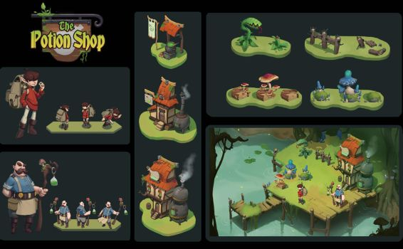 Potion Shop by awesomeplex