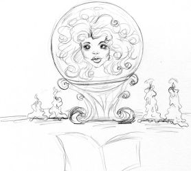 Madame Leota Pencils by collectingbees