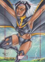 Storm Marvel 75th Anniversary 2014 by Dangerous-Beauty778