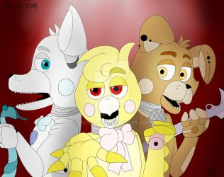 Happy's Animatronic's (Five Nights at Chico 2???) by werciacx