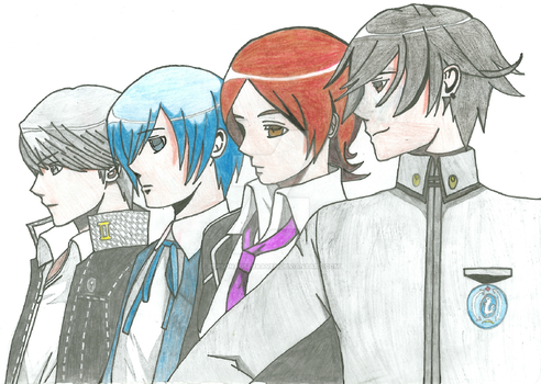 Persona Generations by PersonaUserRaven