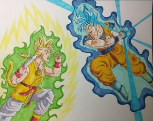 Vertigo vs Goku by ShadowDragon6114