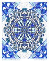 Wednesday Woeful Mandala by Quaddles-Roost