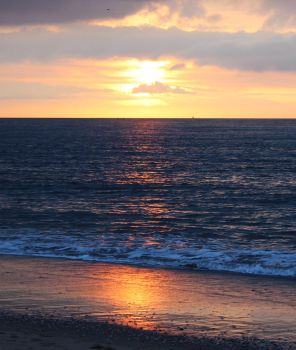 Sundown By The Sea by Caillean-Photography