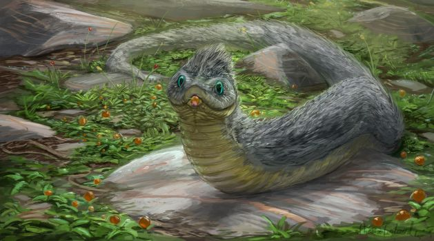 Furred tundra snake by ThemeFinland