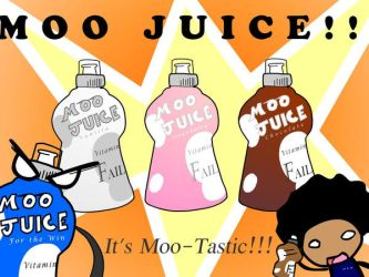 Moo Juice Ad by Archinos