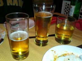 Beer Glass by nakulanand
