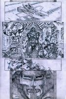 SanEspina Inhumans page1 pencils by santiagocomics