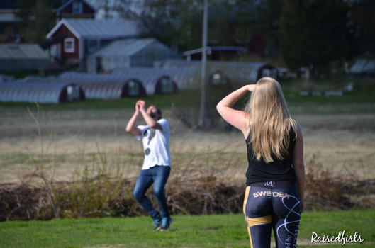 Sports in Swedish countryside by RaisedFists