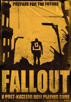 Fallout POSTER by StuntmanKamil