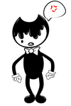 |Bendy and the Ink Machine| I CAN'T SEE ANYTHING by SleepyInu