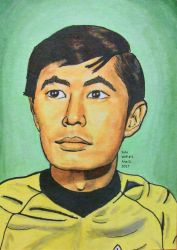 WIP # 4 Sulu - Star Trek: TOS by TinyAna