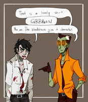 Classy Zombies by Shusihi
