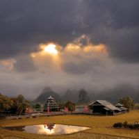 the Karst hills of Guangxi by foureyes