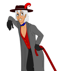 Disney Lou lean transparent by SailorPhantom