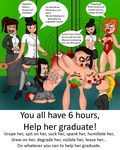 Graduating  +  story by ItCameFromYourFridge
