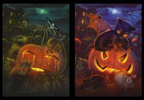 Halloween story by MariLucia