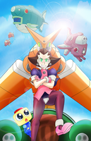 Tron Bonne by Sketch-What-You-See