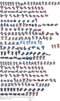 Sonic the Hedgehog - SMB3 Style by EXEcutor-The-Bat
