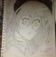another Misaki picture by epicbubble7