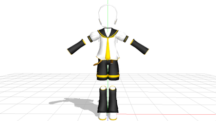MMD Len Coustume DL's by ashleyprincesaamy