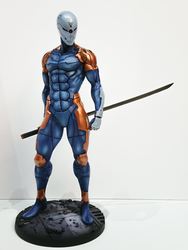 Ninja (Gray FOX) by Hyb1rd-1982