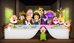 Snow White - Last Supper by hiugo
