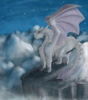 Mountain Dragon by The-Paige-Meister