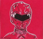 Mighty Morphin Power Ranger Red by jacksony22