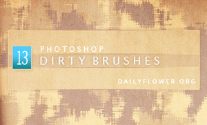 dirty brushes by creativesplash