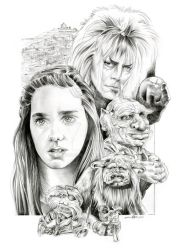 Labyrinth Poster Design by quigonjimg