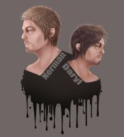 Norman Reedus - Daryl Dixon (the Walking Dead) by CrisK-Art