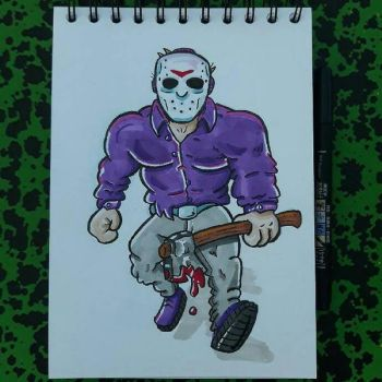 Jason Voorhees by tomcollemare