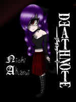 Death note Oc COLOR by Xx-Anime-UT-Trash-xX