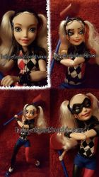 Repaint: Super Hero Girls Harley Quinn by ladyyatexel