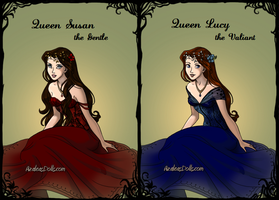 Queens of Narnia by Marianagmt