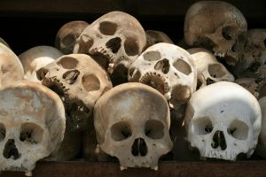 Killing Fields Skulls by AbsyntheMyndedArt