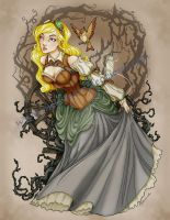 Steampunk Sleeping Beauty by MysticReflections