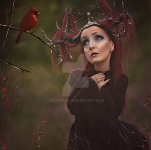 Red Bird by mshellee