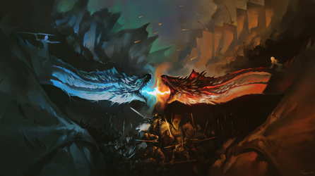 The War Against The Death. Game of Thrones by fkcogus333
