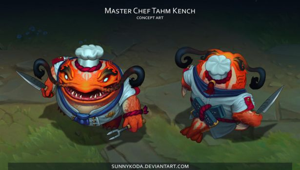 Master Chef Tahm Kench by sunnykoda