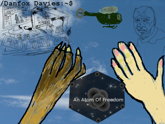 An Atom Of Freedom book cover by DSDFox