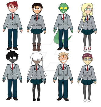 BNHA Student Adopts (CLOSED) by NuttyandProud03