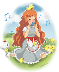 [DTA Entry] the litle song of the chicks by Posy-Docsy