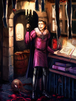 Gilles de Rais by queenvera