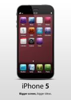 iPhone 5 - No more home button by jakeroot