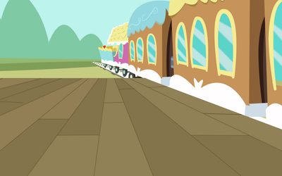 MLP Train Station Vector by KiniestLimit