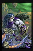 Death from Darksiders 2 colored by hanzozuken