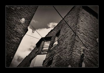 bricks and wires by MichelleMarie