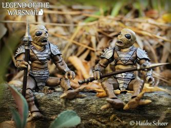3D printed Action Figures Darkbugs A by hauke3000